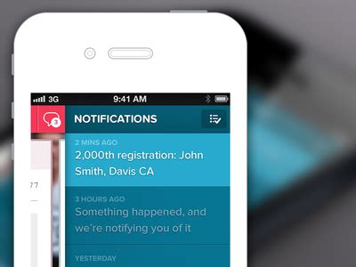 notifications  images app design mobile design