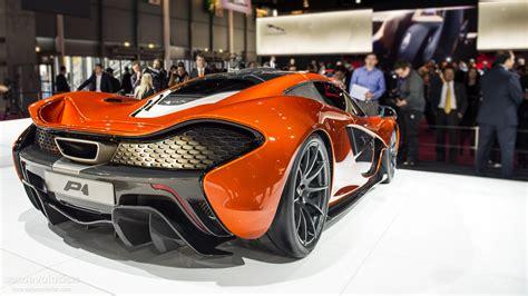 bugatti ettore concept paris 2012 mclaren p1 hypercar concept live photos