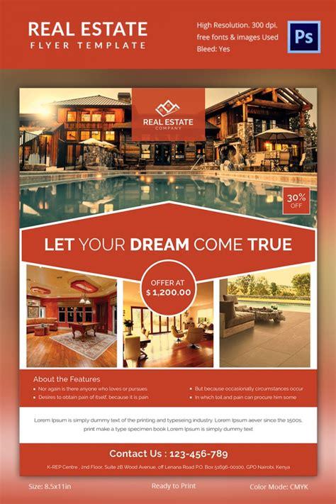 real estate flyer template   psd ai vector eps