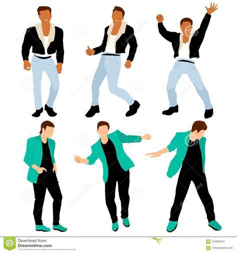 disco dancing boys dressed   dandy