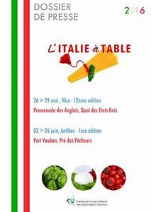italie a table 2016 by chambre de commerce italienne de With chambre de commerce italienne de nice