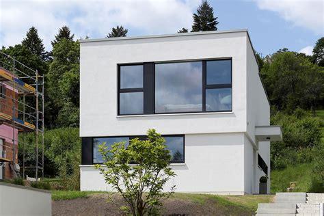 Modernes Haus Ohne Flachdach by Pultdach Haus Modern Mit Flachdach Anbau Und Terrasse Avec