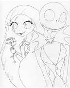 Jack and sally coloring pages - Coloring Pages   Pictures - IMAGIXS  Jack And Sally Coloring Pages