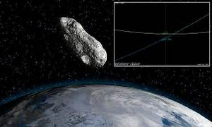 NASA reveals an asteroid passed close to Earth yesterday ...