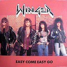 Addition Chart 1 100 Easy Come Easy Go Winger Song Wikipedia