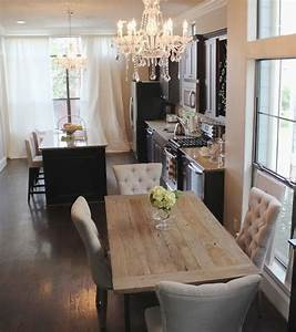 rustic glam kitchen and dining area | Home is a hug that ...