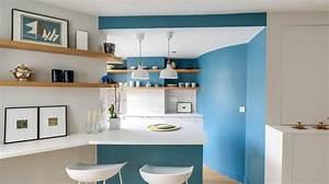 peintures de couleur par ici le nuancier cote maison With beautiful couleur pour mur salon 3 osez une deco couleur bleu canard dans votre interieur