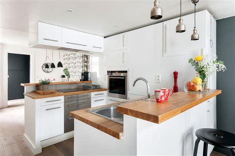 cuisine 3m2 cuisine bois moderne idées pour un intérieur chaleureux