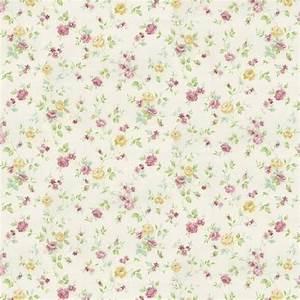Pink Floral Vintage Wallpaper   WallMaya.com