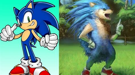 Sonic Characters In Real Life Youtube
