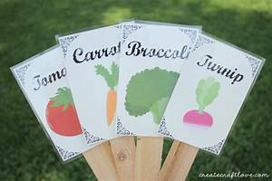 DIY Garden Labels Making Things Is Awesome Quilts Sewing