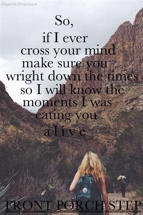 Front Porch Step Lyrics by Drown Front Porch Step Obsessed With This Song It S