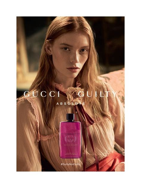 gucci launches gucci guilty absolute pour