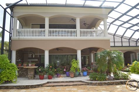custom home backyard gallery stoughton duran custom home builders