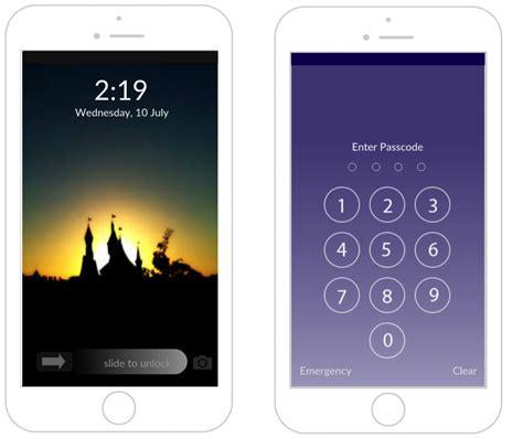 HD wallpapers iphone lock screen customize