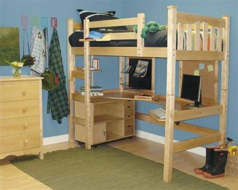 how to build a loft bed with desk diy project how to make a loft bed for your room
