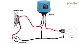 wiring a l post photocell wiring a light photocell