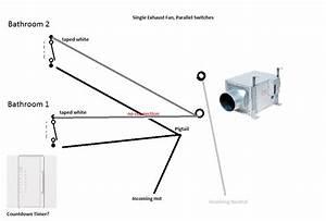 Bathroom Fan Wiring Diagram 2 Switches