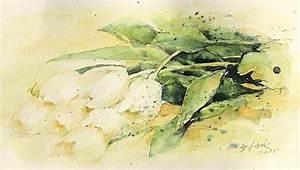 Aquarell Blumen Malen : pflanzen blumen in aquarell mappenkurs d sseldorf ~ Frokenaadalensverden.com Haus und Dekorationen