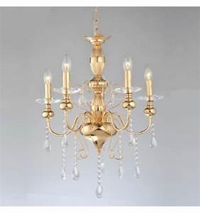 Kronleuchter 5 Flammig : kronleuchter 5 flammig gold klassik kristall mit kristall behang ~ Whattoseeinmadrid.com Haus und Dekorationen