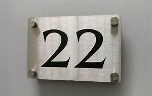 Plaque De Metal : numero de maison metal inox d coup au laser plaque couleur noir lasercut house number ~ Teatrodelosmanantiales.com Idées de Décoration