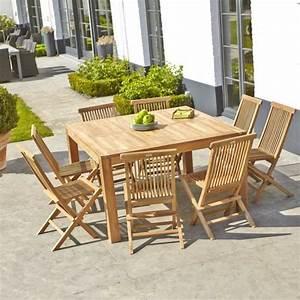 Table En Teck Jardin : salon de jardin en teck brut qualite grade a achat ~ Melissatoandfro.com Idées de Décoration