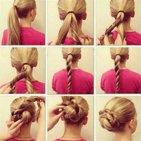 top 5 diy 5 minute hairstyles for long hair indian