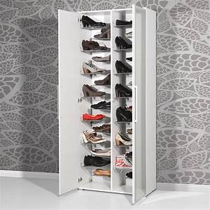 armoire chaussures grande capacite With meuble chaussure grande capacite 17 rangements chaussures maison futee