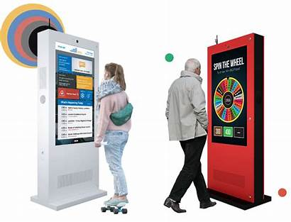 Outdoor Kiosks Display Digital Screen Touch Eflyn