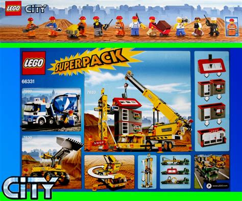 lego  city baustelle superpack