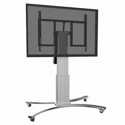 Monitor Stand Adjustable Tilt Motorized Mobile Vertical