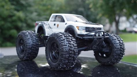 hpi savage flux painting series  ford   raptor