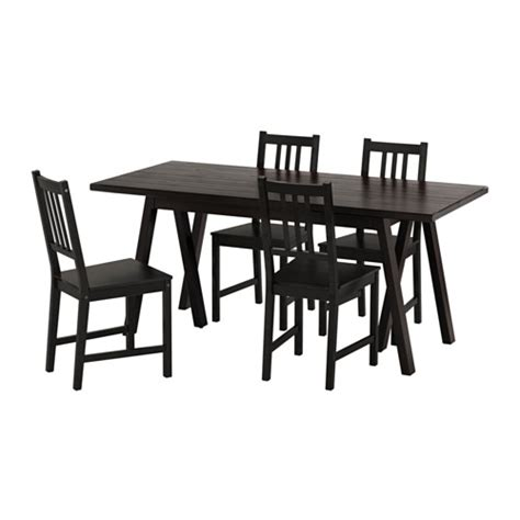 ikea table et chaise ryggestad grebbestad stefan table and 4 chairs ikea