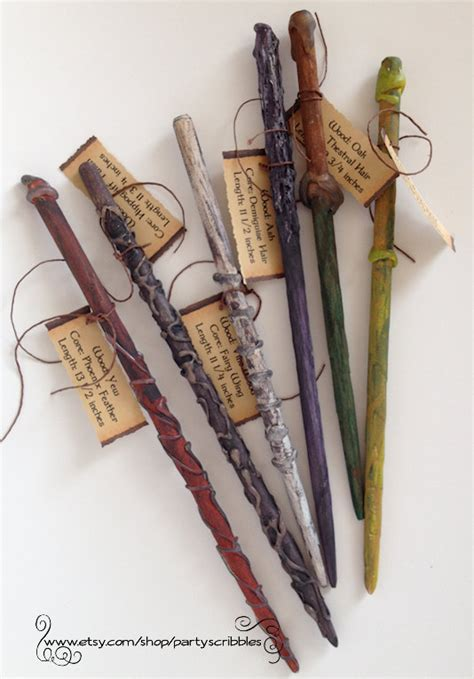 wand design ideas 6 wands party favor pack for hogwarts wizards plus book