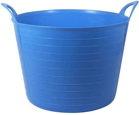 b and q tub active 31 45 l blue flexi tub departments diy at b q