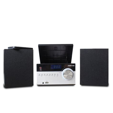 Bedroom Stereo by Bluetooth Speaker Micro Hifi Stereo System Cd Player Usb