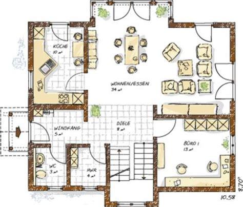 Haus Bauen Ideen Grundriss by Haus Grundriss Ideen Einfamilienhaus