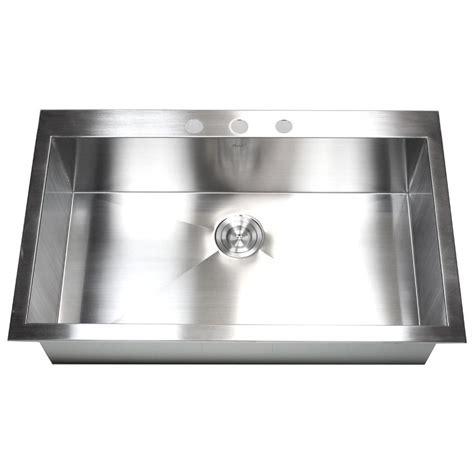 best stainless steel sinks 36 inch top mount drop in stainless steel single super