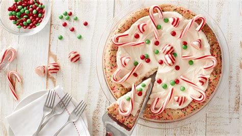 christmas sugar cookie pie recipe bettycrockercom
