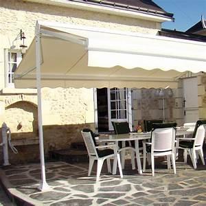Store Banne Manuel Balcon : store double pente sur pied ~ Premium-room.com Idées de Décoration