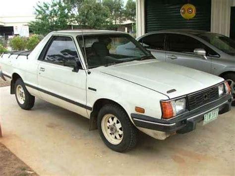 subaru ute 1987 used subaru brumby ute car sales shepparton vic very