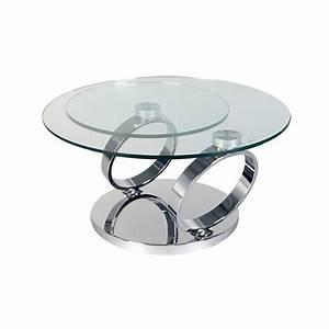 Plateau En Verre Rond : plateau en verre rond gallery of table ronde verre ikea ~ Teatrodelosmanantiales.com Idées de Décoration