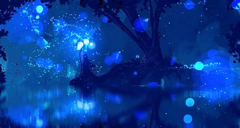 Blue Magical Wallpaper Hd by Blue Mage Wallpaper 71 Images