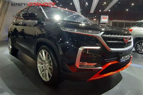 Wuling Almaz Modification by Wuling Bawa Almaz Versi Agresif Di Telkomsel Iims 2019