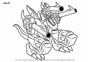 Learn How To Draw Barrel Dragon From Yu Gi Oh Duel Monsters Yu Gi Oh Duel Monsters Step By