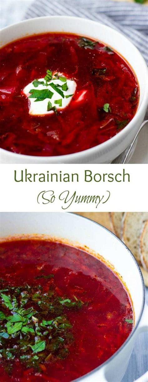 ukrainian borsch cabbage borscht recipe lavender