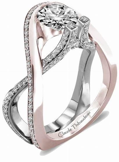 Rings Ring Unique Engagement Claude Thibaudeau Jewelry