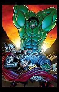 Hulk vs Thor by BDStevens on DeviantArt