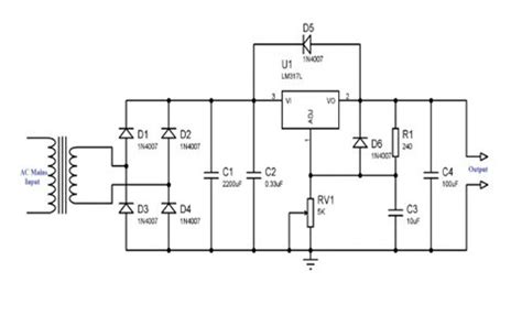 How Make Variable Power Supply Circuit With Digital Control