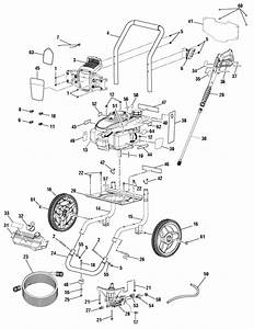 Homelite Ut80993d Pressure Washer Parts And Accessories